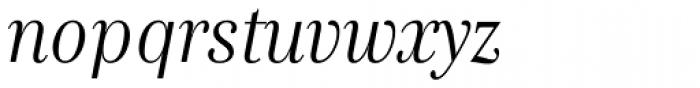Genre Italic Font LOWERCASE