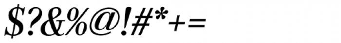 Genre Medium Italic Font OTHER CHARS