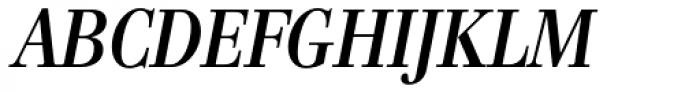 Genre Medium Italic Font UPPERCASE