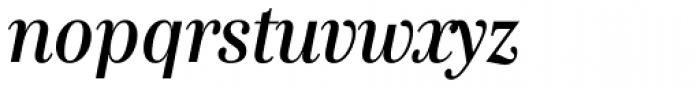 Genre Medium Italic Font LOWERCASE