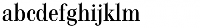 Genre Medium Font LOWERCASE