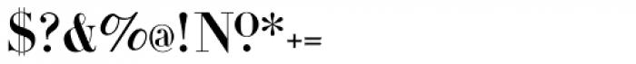 Gens De Baton Font OTHER CHARS