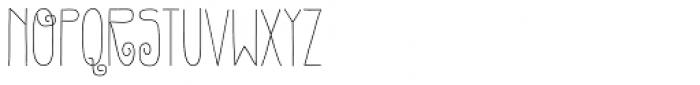 Gentil Font UPPERCASE