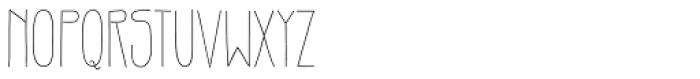 Gentil Font LOWERCASE