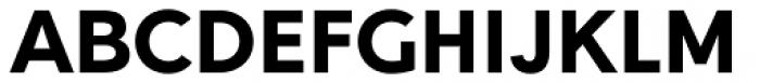 Gentleman Heavy Font UPPERCASE