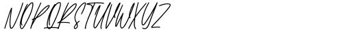Gentlysoftly Regular Font UPPERCASE
