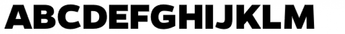 Gentona ExtraBold Font UPPERCASE
