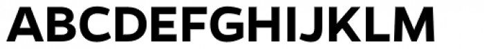Gentona SemiBold Font UPPERCASE