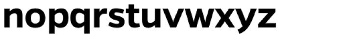 Gentona SemiBold Font LOWERCASE