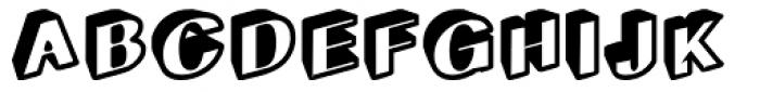 Geodec Egiptian Bold Font UPPERCASE