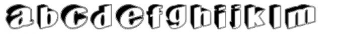 Geodec Egiptian Font LOWERCASE