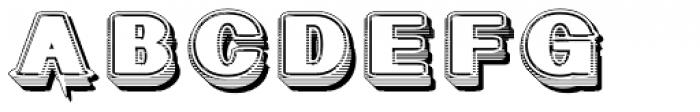 Geodec Fog White Font UPPERCASE