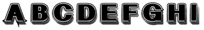 Geodec Fog Font UPPERCASE
