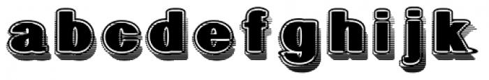 Geodec Fog Font LOWERCASE