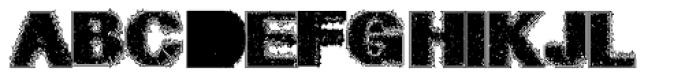 Geodec Petras Enhanced Font UPPERCASE