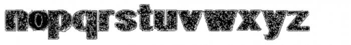 Geodec Petras Enhanced Font LOWERCASE