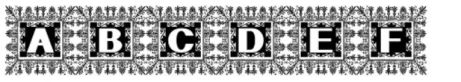 Geodec Font UPPERCASE