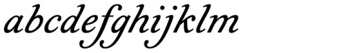 Geographica Italic Font LOWERCASE