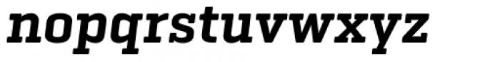 Geogrotesque Slab Semi Bold Italic Font LOWERCASE