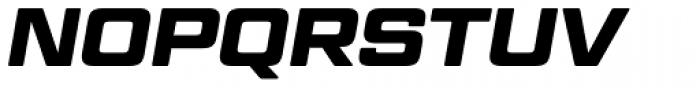 Geom Graphic Bold Italic Font UPPERCASE
