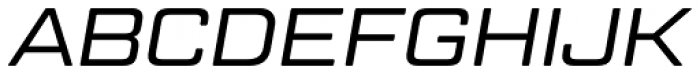 Geom Graphic Light Italic Font UPPERCASE