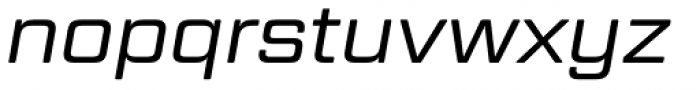 Geom Graphic Light Italic Font LOWERCASE