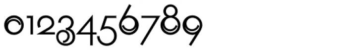 Geometa Deco Light Font OTHER CHARS