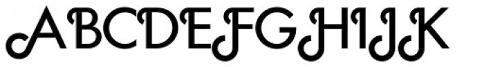Geometa Deco Font UPPERCASE