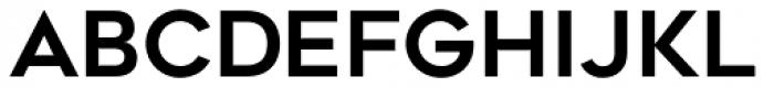 Geometos Neue Bold Font LOWERCASE