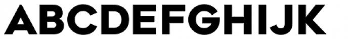 Geometos Neue Extra Bold Font LOWERCASE