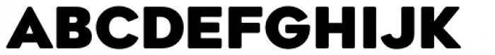 Geometos Soft Black Font UPPERCASE