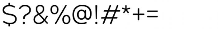 Geometos Soft Light Font OTHER CHARS