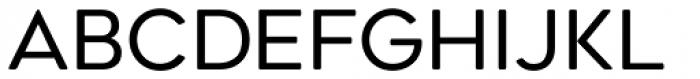 Geometos Soft Regular Font LOWERCASE