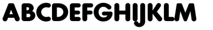 Geometra Rounded Bold Font UPPERCASE