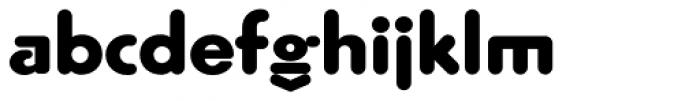 Geometra Rounded Bold Font LOWERCASE