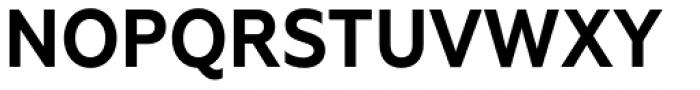 Geometria Narrow Bold Font UPPERCASE
