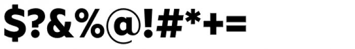 Geometria Narrow ExtraBold Font OTHER CHARS
