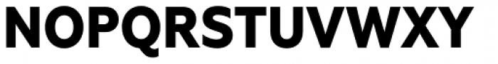 Geometria Narrow ExtraBold Font UPPERCASE