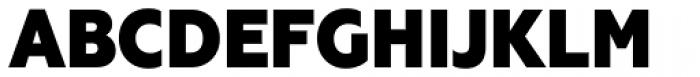 Geometria Narrow Heavy Font UPPERCASE