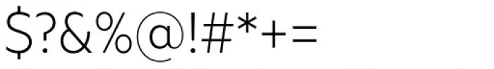 Geometria Narrow Light Font OTHER CHARS