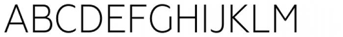 Geometria Narrow Light Font UPPERCASE