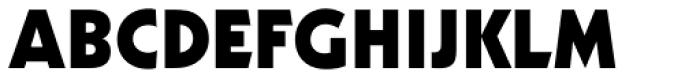 Geometric 231 Heavy Font UPPERCASE