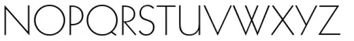 Geometric 231 Light Font UPPERCASE