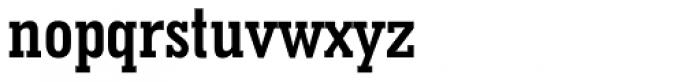 Geometric Slabserif 703 Bold Condensed Font LOWERCASE