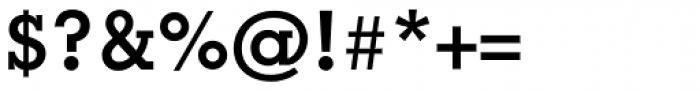 Geometric Slabserif 703 Bold Font OTHER CHARS