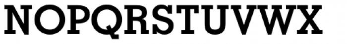 Geometric Slabserif 703 Bold Font UPPERCASE