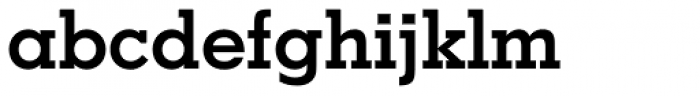 Geometric Slabserif 703 Bold Font LOWERCASE
