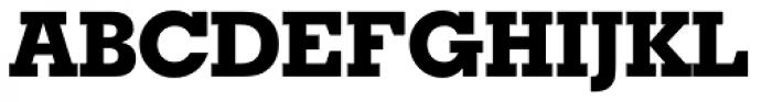 Geometric Slabserif 703 ExtraBold Font UPPERCASE