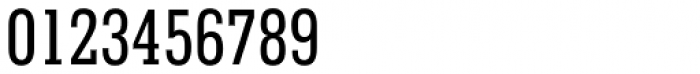 Geometric Slabserif 703 Medium Condensed Font OTHER CHARS
