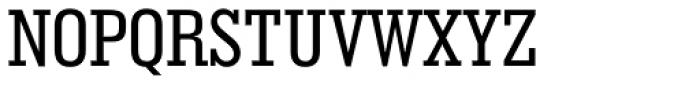 Geometric Slabserif 703 Medium Condensed Font UPPERCASE